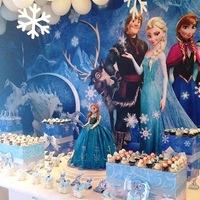 Festa Frozen - Georgia Festas.