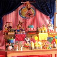 Festa Madagascar no Circo.