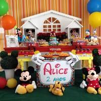 Festa Mickey e sua Turma.