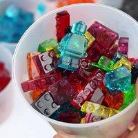 Bala de Gelatina Lego