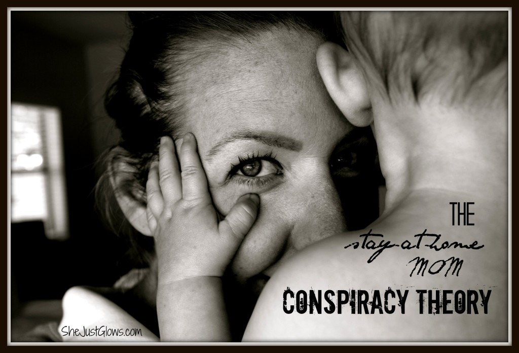 The Stay-At-Home Mom Conspiracy Theory SheJustGlows.com