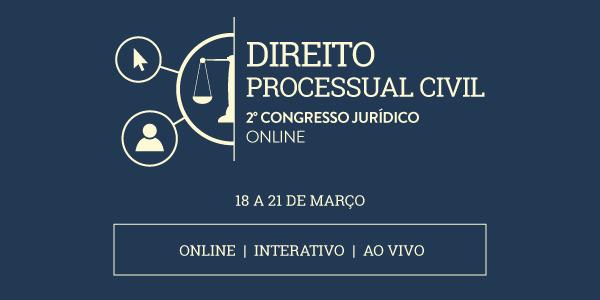 2º Congresso Jurídico Online