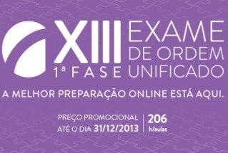 XIII Exame de Ordem