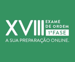XVIII Exame de Ordem