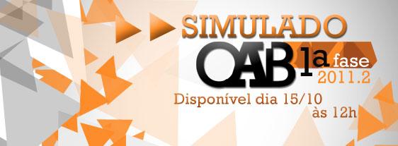 Gabarito comentado: 1º simulado da OAB 2011.2