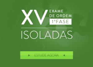 CERS lança isoladas para XV Exame de Ordem