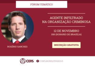 Jurista Rogério Sanches abre série de fóruns temáticos com palestra sobre corrupção eleitoral