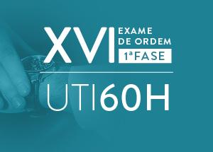 UTI 60H: estudo intensivo, aprovação à vista