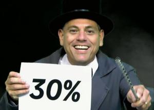 Seguiu? Então aproveite os 30% de desconto nos cursos!