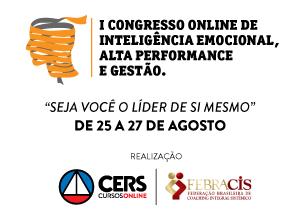 Inscrições abertas para o 1º Congresso de Inteligência Emocional, Alta Performance e Gestão