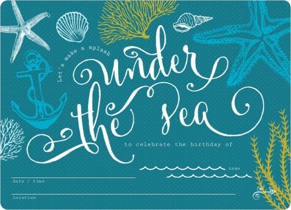 Beach Wedding Invitations Ideas for good invitation example