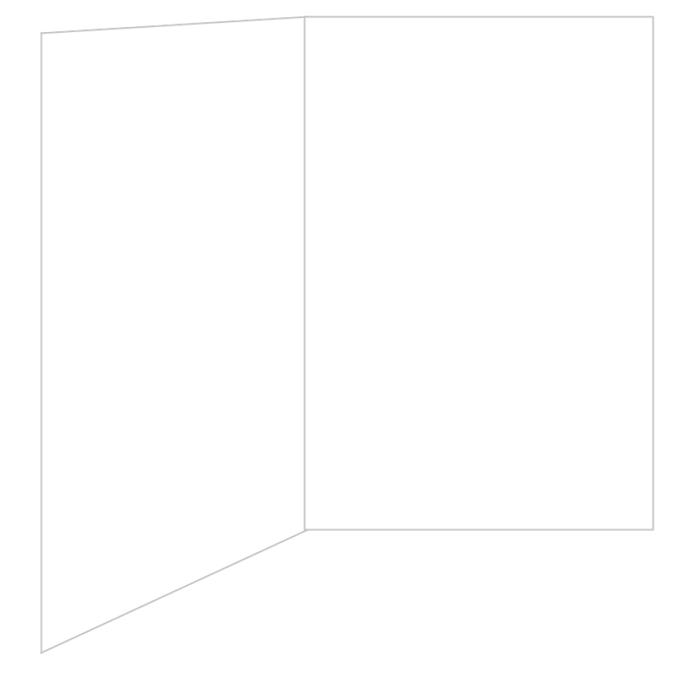 blank birthday card template .