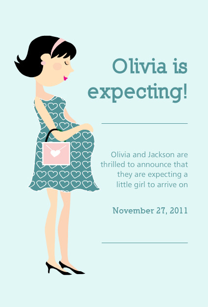 free ecard pregnancy announcement