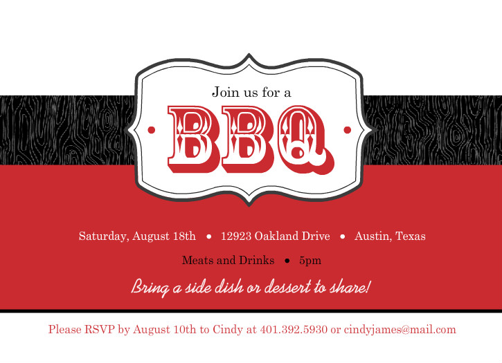Bbq Invitation Template Blank Pictures to Pin PinsDaddy – Bbq Invitation Template