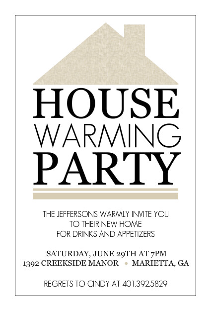 Unforgettable image with regard to free printable housewarming invitations