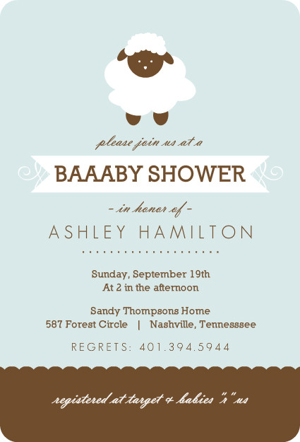 42 best images about sheep theme nursery and baby shower on, Baby shower invitations