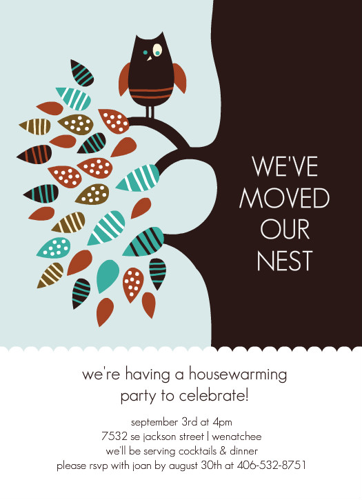 Free Printable House Warming Invitations