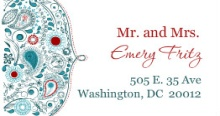 Whimsical Romance (Set) Address Label