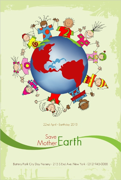 Slogans on Saving Mother Earth Save Mother Earth