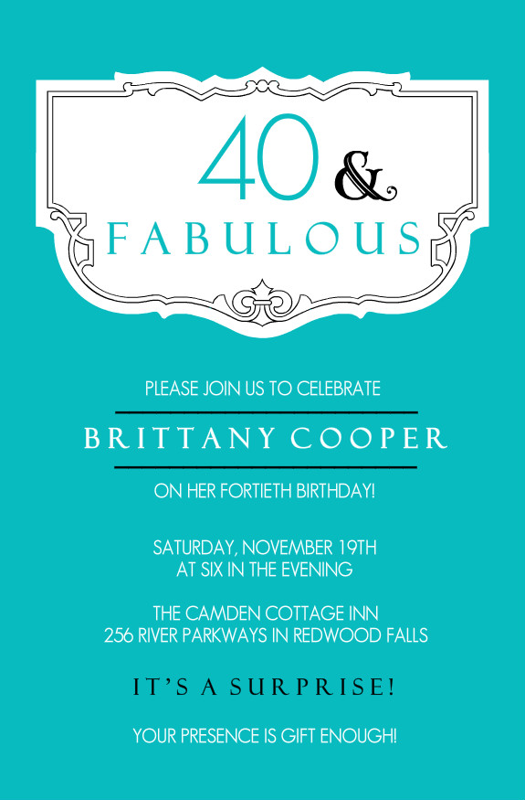 40th birthday ideas: 40th birthday invitation templates free uk, Birthday invitations