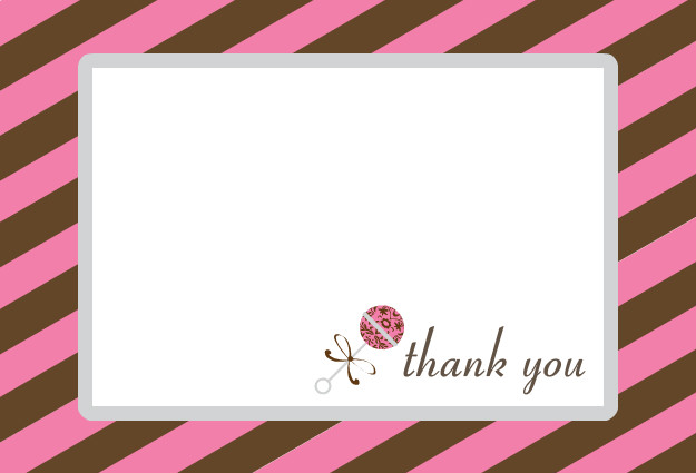 baby gift thank you note samples