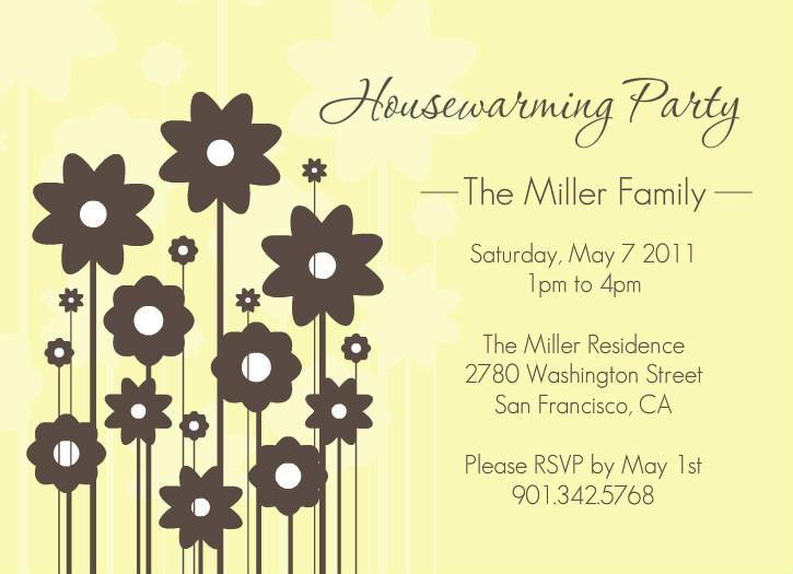 housewarming invitations template
