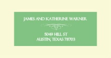 Mint Green and Cream (Set) Address Labels