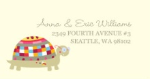 Little Turtle (Set) Address Label