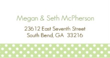 Simple Baby Boy (Set) Address Labels