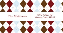 Argyle (Set) Address Labels