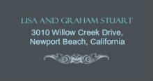 Gray and Teal Anniversary (Set) Address Label
