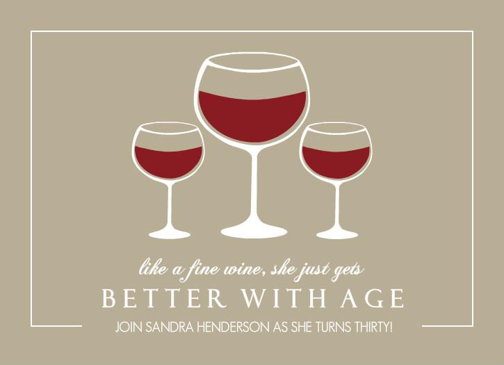 40th birthday wine invitation template filmwisefo