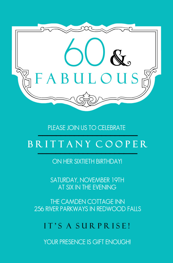 Fortieth Birthday Invitations as awesome invitations example