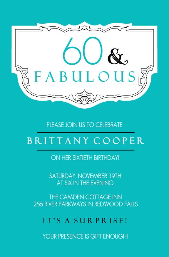 40th birthday ideas 60th birthday invitation card templates free