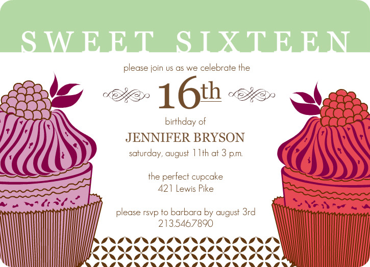 Invitation birthday party sweet seventeen gallery invitation create an invitation card for a sweet seventeen birthday party create an invitation card for a stopboris Image collections