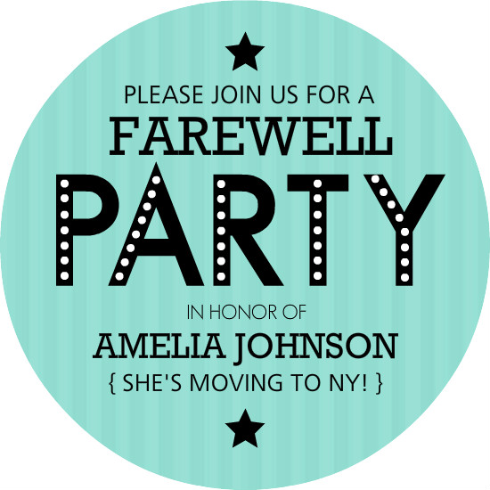 going away party invitation templates – Invitations for Going Away Party