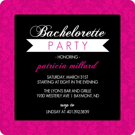 Mad Hatter Invitation as luxury invitation example