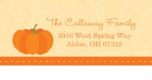 Our Little Pumpkin (Set) Halloween Address Label