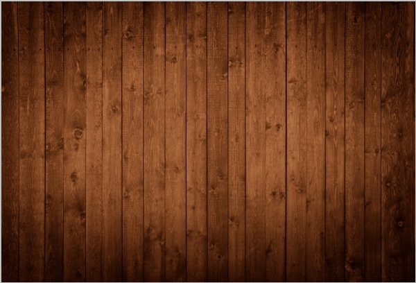 rustic wood grain collage thank you card template