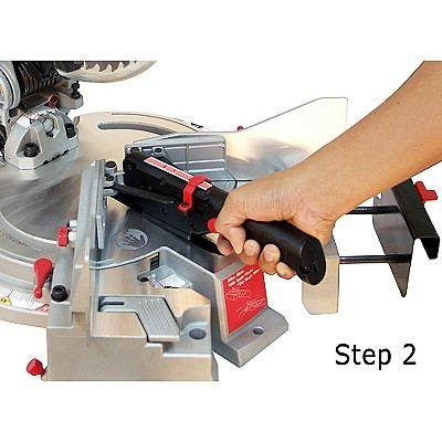 Transfer the measurement to the saw.
