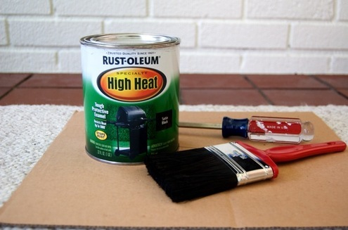 Painting with high head paint
