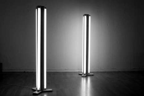 Fluorescent-floor-lamp