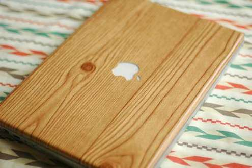 Diy-wood-grain-laptop-wrap
