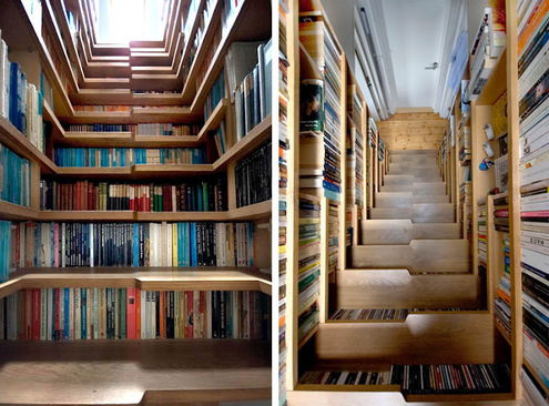 50 Awesome Creative Ways To Display And Store Books