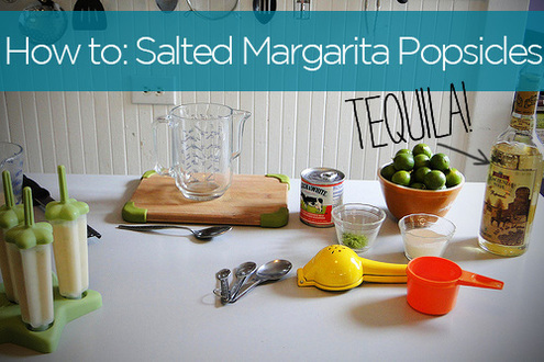 How to: Make Salted Margarita Cream Popsicles (with Tequila!) | Man ...