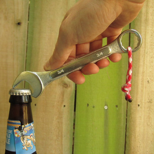 diy idea make a wrench bottle opener man made diy crafts for men keywords bottle beer. Black Bedroom Furniture Sets. Home Design Ideas