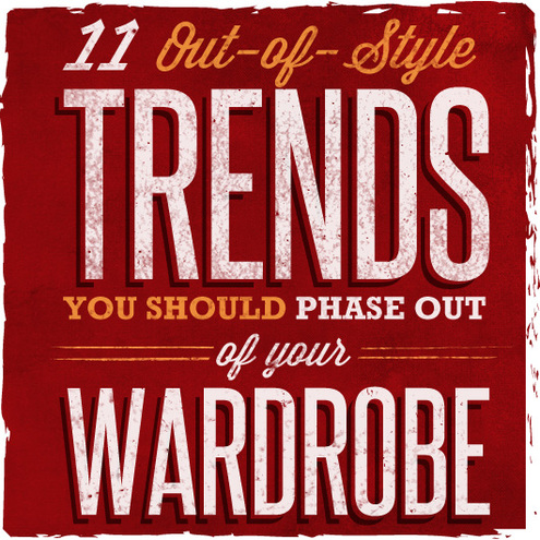 11 out of style trends you should phase out of your wardrobe man made diy crafts for men Fashion trends going out of style