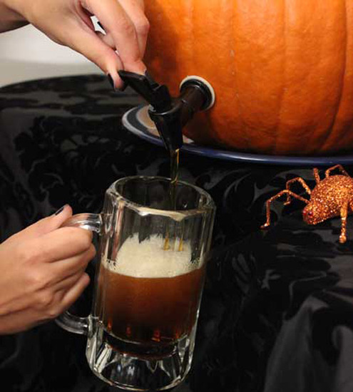 How to make a diy pumpkin keg man made diy crafts for men keywords pumpkin keg how to diy - Making a pumpkin keg a seasonal diy project ...