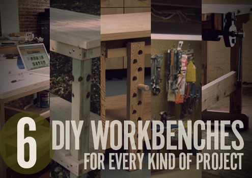 6 diy workbench projects you can build in a weekend man for Craft projects for guys