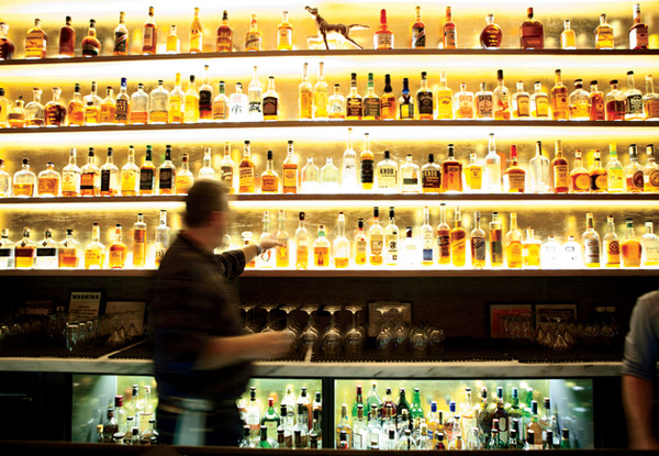Maysville's beautiful back bar via [http://www.gq.com/food-travel/wine-and-cocktails/201305/10-best-whiskey-bars-may-2013]